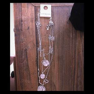 🍀Lucky Brand NWT Coin Necklace 🍀